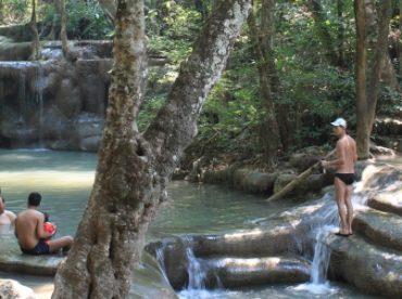 Erawan-vandfaldene-i-Thailand